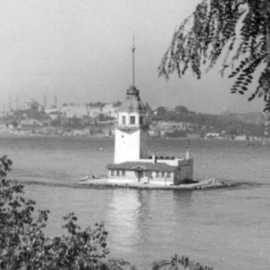 Leanderturm im Bosporus