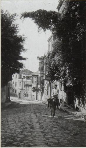 Straße in Stambul.